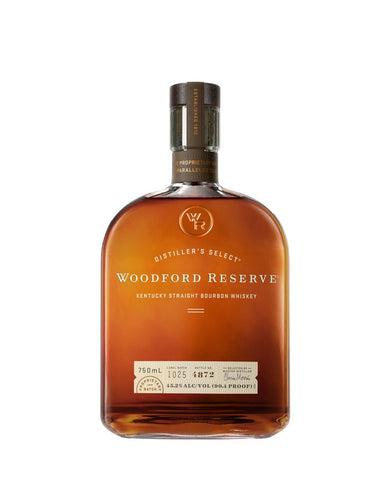 Woodford Reserve Distiller's Select Kentucky Straight Bourbon Whiskey bottle