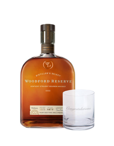 Woodford Reserve Bourbon with Dartington