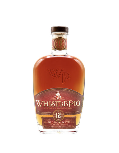 WhistlePig 12 Year Old World Cask Rye Whiskey
