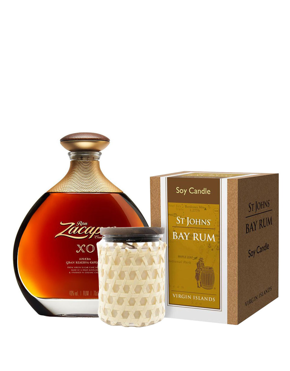 Load image into Gallery viewer, Zacapa XO with St Johns Bay Rum Candle