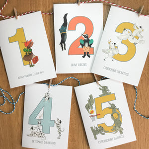 A5 mini Print & Card set