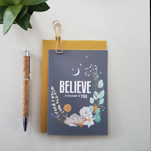 Believe in the Power of You - card