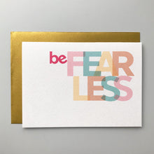 Load image into Gallery viewer, Cards of courage - send some inspiration and motivation! Singles or 5 pack