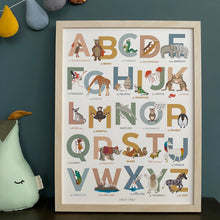 Load image into Gallery viewer, Alphabet of Emotions print - Autumn Edition