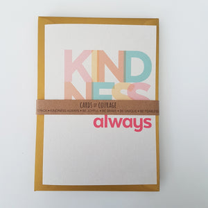 Cards of courage - send some inspiration and motivation! Singles or 5 pack