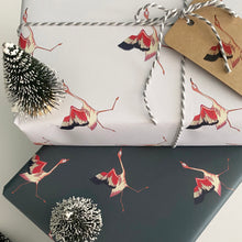 Load image into Gallery viewer, Flamingo Gift Wrap & Tags