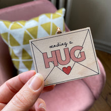 Load image into Gallery viewer, Sending a hug keepsake letterbox gift