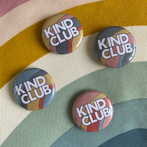 Kind Club mini badge