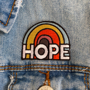 HOPE iron-on patch