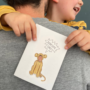 Roarsome Dad! card