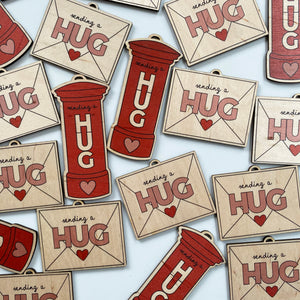 Perfectly Imperfect HUGS decoration