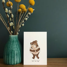 Load image into Gallery viewer, Best bear hugs! card