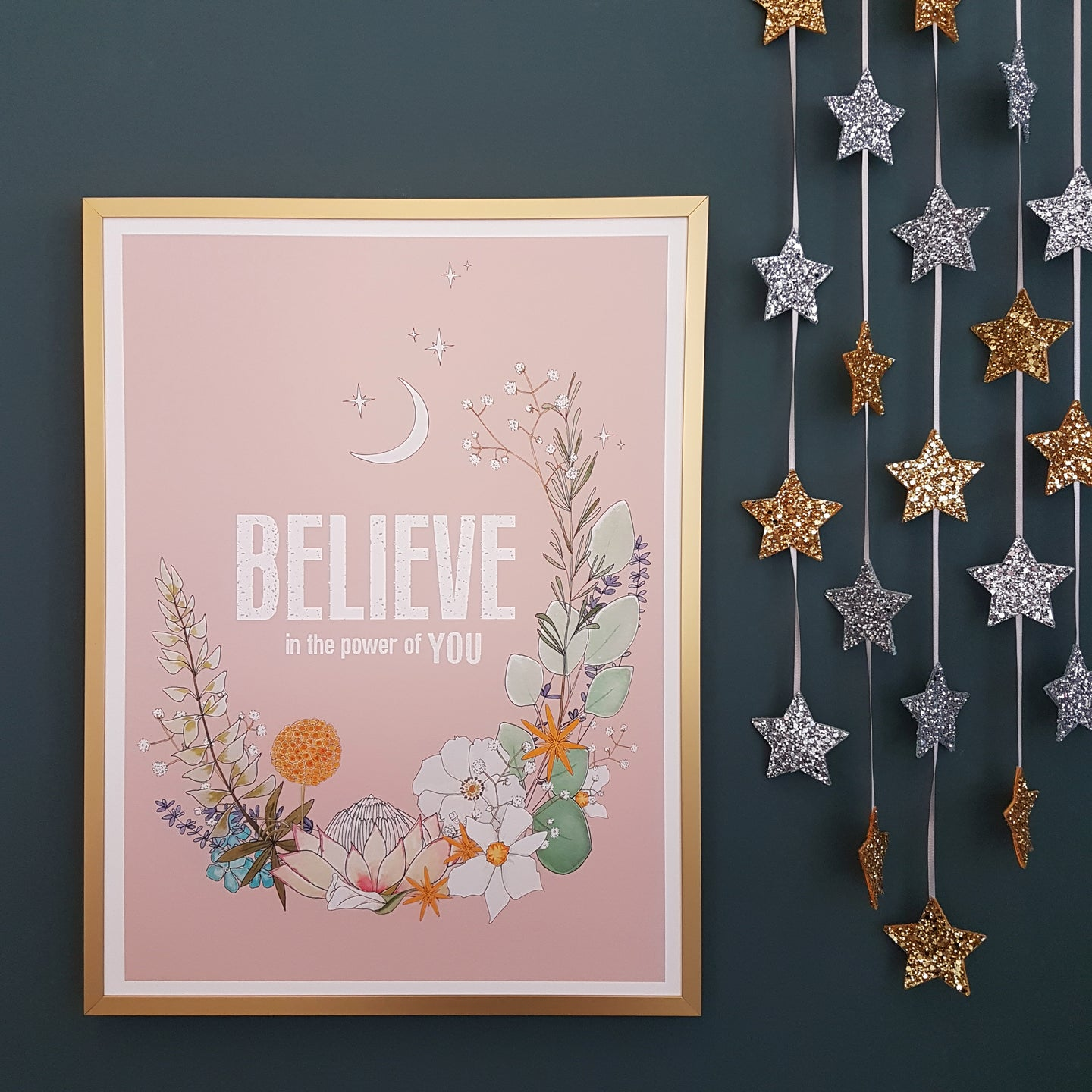 Believe in the Power of You print