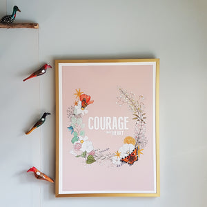 Courage, dear Heart print