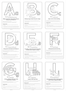 Little Pack of Positivity - Downloadable 26 page Colouring & Activity Pack