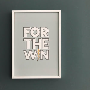 For the win! Print