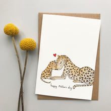 Load image into Gallery viewer, Leopard Love Mother's Day card