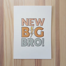Load image into Gallery viewer, New Big Bro! & New Big Sis! cards