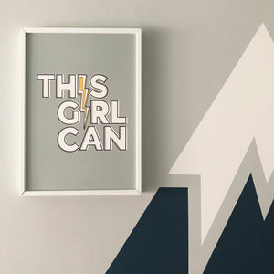 This Girl Can! Print