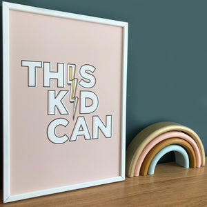 This Kid Can! Print