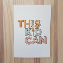 Load image into Gallery viewer, This Kid Can! and Yes You Can! cards