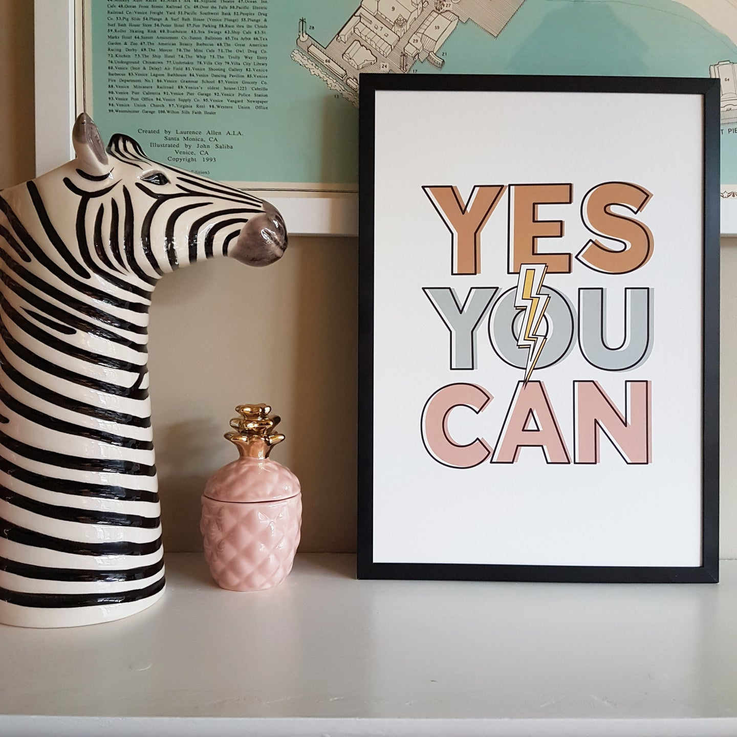 Yes You Can! Print