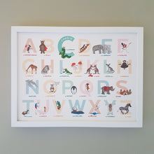 Load image into Gallery viewer, Personalised Original Alphabet of Emotions name print