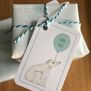 Polar Bear Christmas gift wrap