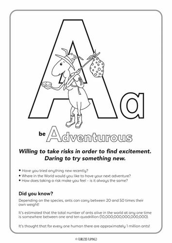 Downloadable Letter A Worksheet
