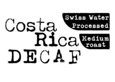 Costa Rica - Decaf - Wholesale