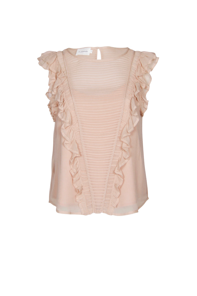 Under The Starlit Sky Frill Top