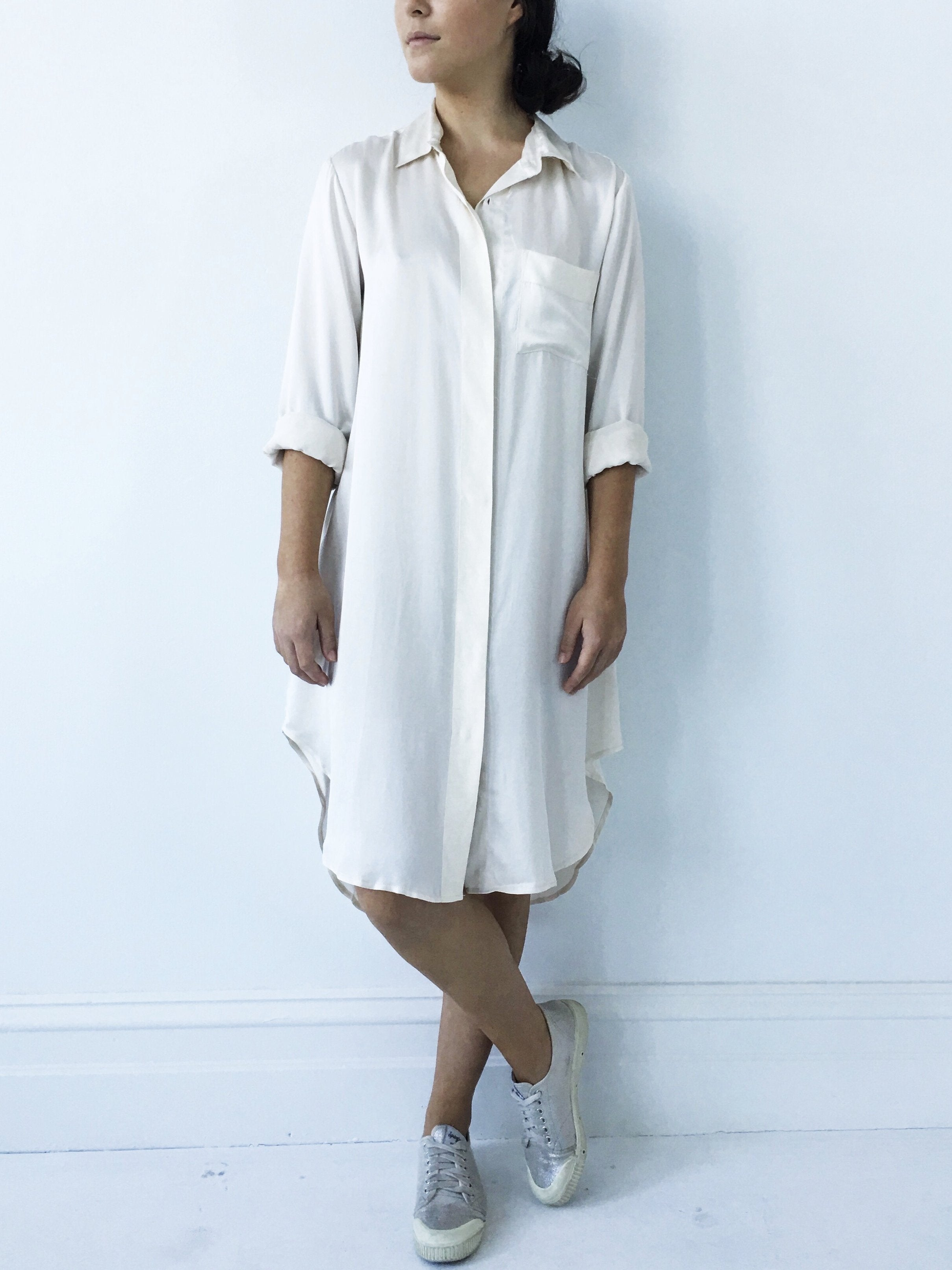 Essential Shirt Dress