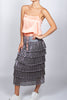 Pisces Long Frill Skirt