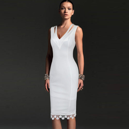 Vfemage Casual Party Pencil Dress