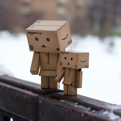 Pack Double Danbo™ Amazon 8 & 13 Cm