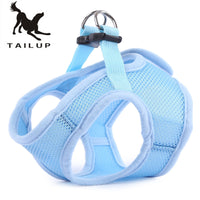 TAILUP Pet Dog Soft Mesh Walking Collar Strap Vest Apparel - Oveya
