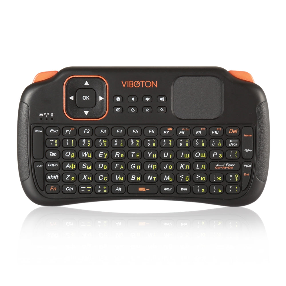 Viboton S1 English Russian All-in-One 2.4G Wireless Keyboard