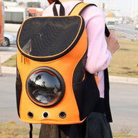 Dogs Cats Carrier Portable Travel Capsule Space Bubble Backpack