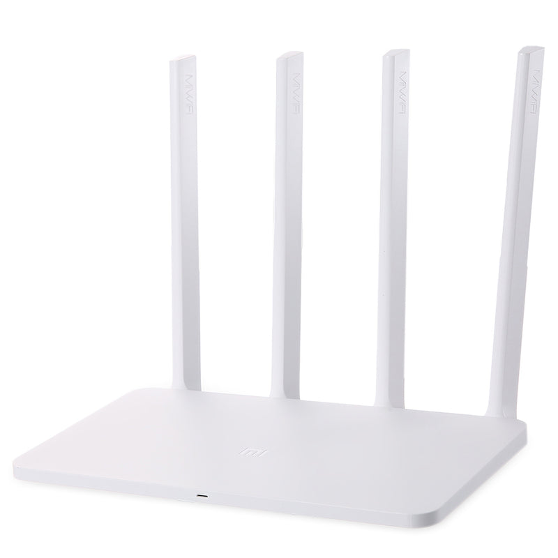Original Xiaomi Mi 300Mbps 2.4GHz WiFi Router 3C Signal Booster with 4 Antenna English Version - Oveya