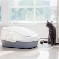 Semi-open Cat Litter Box Pet Supplies from Xiaomi Youpin - Oveya