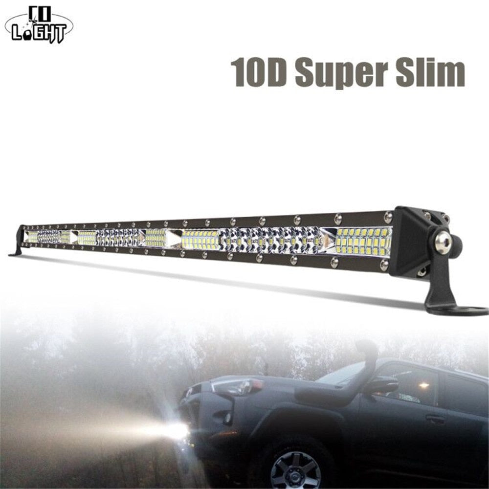 LED Light Bar 12V Spot Flood Driving Work Light Bar