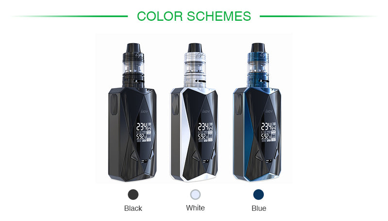 Diamond PD270  Kit with 2ml Captain Mini Tank & Diamond PD270 Mod 234W Max Output