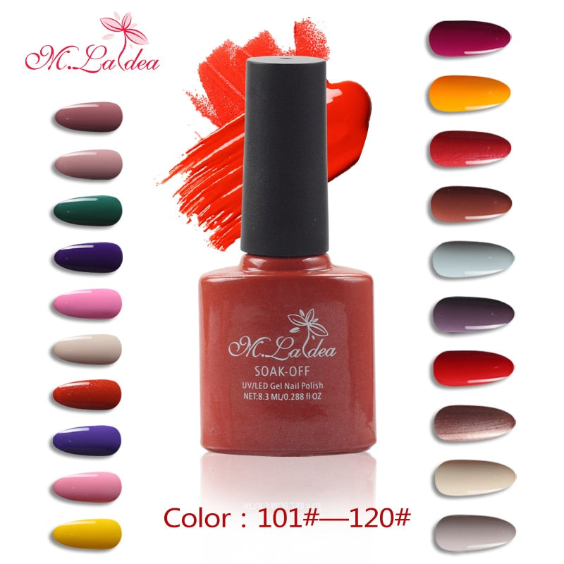 Gel Varnish Nail Art UV Nail Gel Polish 140 Colors