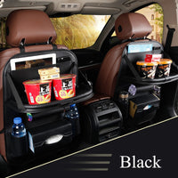 New Car Seat Back Bag Folding Table Organizer