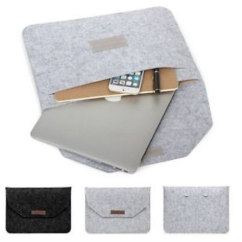 MacBook Air Pro 11/12/13/15 Wool Felt Sleeve Laptop Case Cover Bag