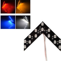 2 Pcs LED Arrow Panel For Car Rear View Mirror - Oveya