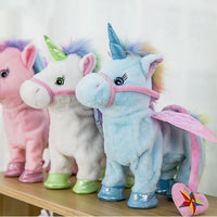 ELECTRIC WALKING UNICORN TOY