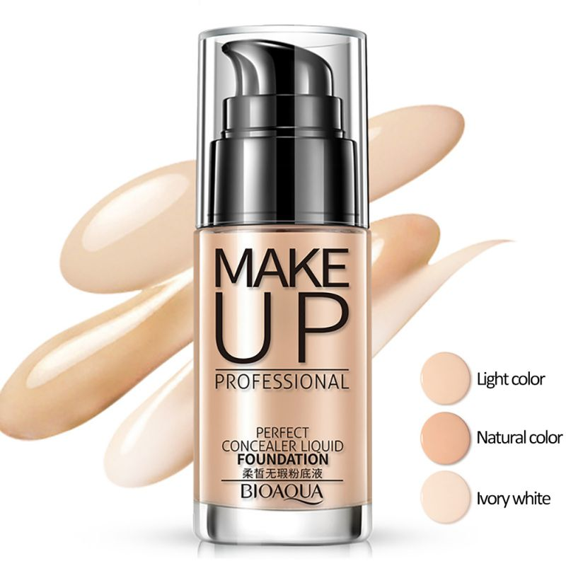 BB Cream Concealer Whitening Moisturizer Oil Control Make up Liquid Base Foundation