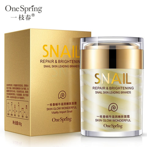 Natural Snail Cream Anti Aging Whitening  Skin Care
