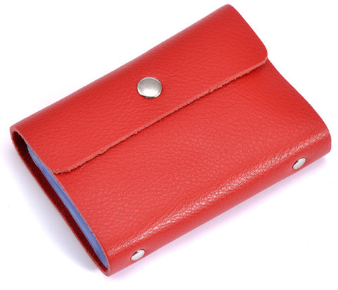 Leather Card Holder - Oveya